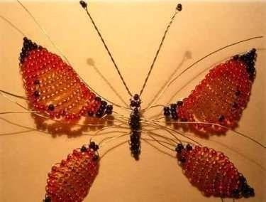 Сборка деталей бабочки