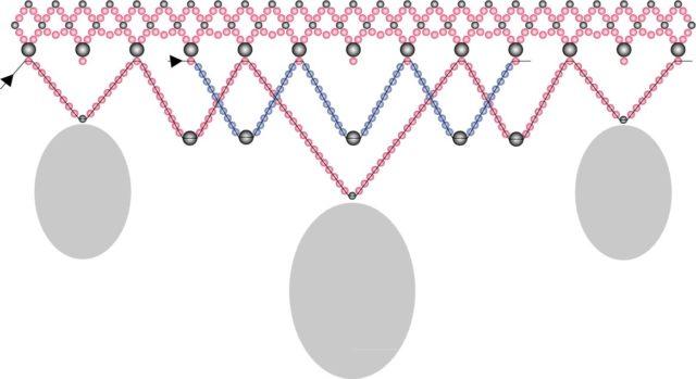 Плетение бус из бисера