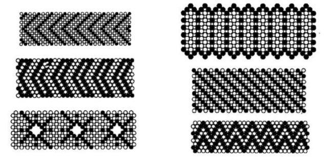 Плетение бисером на станке