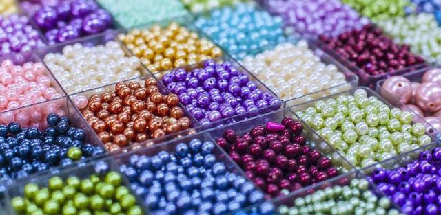 Бисер для плетения фенечек