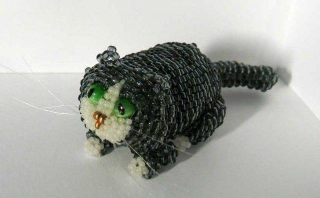 Плетение толстого кота