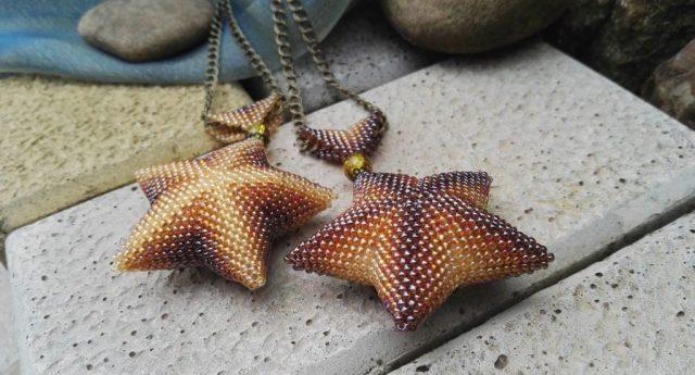 Кулон морская звезда