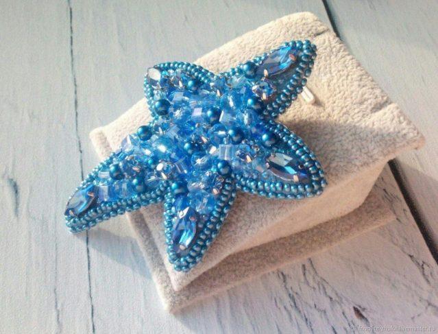 Брошь «Морская звезда»
