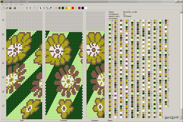 Программа позволяет настраивать цвет и размеры изделия