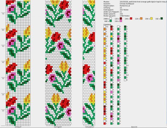 В создании вязанных и мозаичных жгутов поможет программа для жгутов из бисера DB-BEAD
