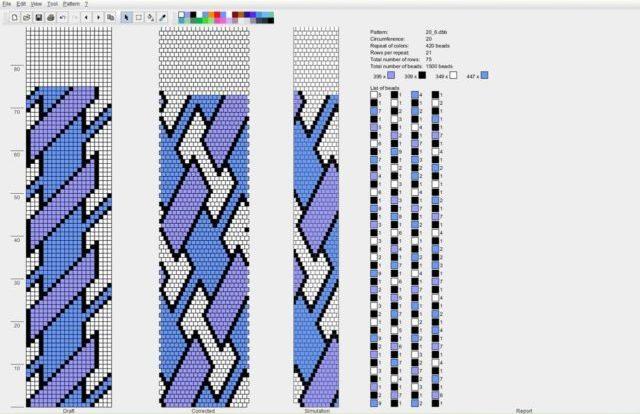 Вязание жгута без накида