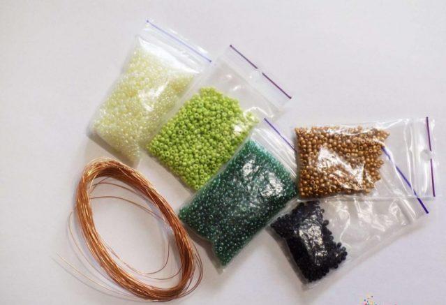 Материалы для изготовления объемной змеи