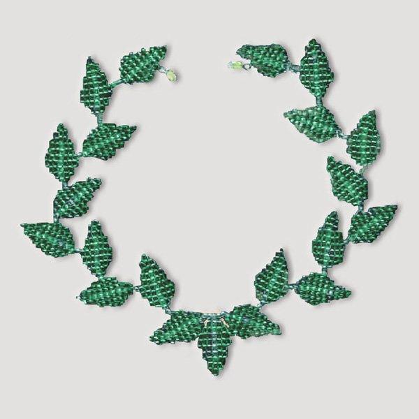 Рабочий материал для плетения листиков