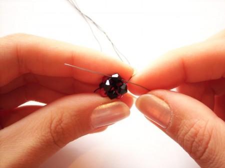 Способ плетения квадратного жгута