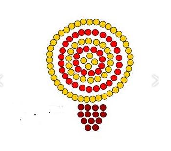 Схема плетения панциря черепашки