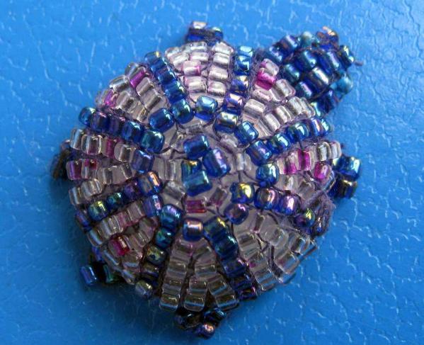 Вариант плетения черепахи из бисера