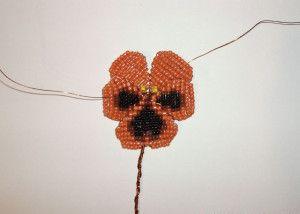 Схема создания цветка
