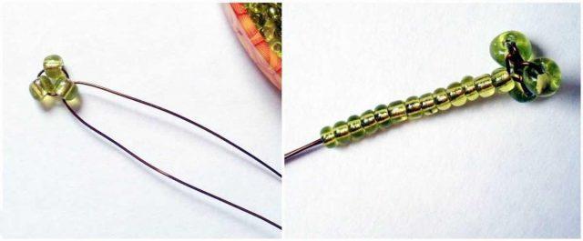 Тычинки для цветов из бисера
