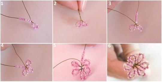 Создание цветов для дерева