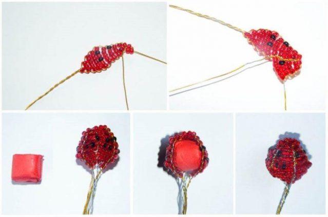 Этапы работы по созданию ягоды