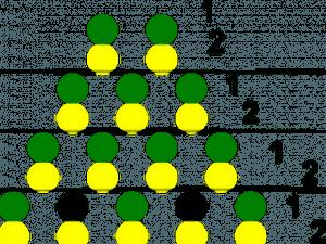 Схема плетения плоского крокодила