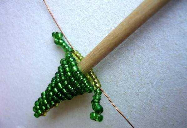 Схема объемного плетения крокодила