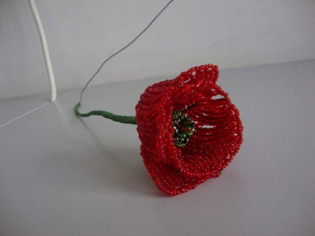 Сборка цветка мака