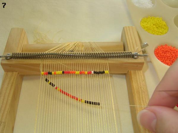 Делаем пояс из бисера своими руками