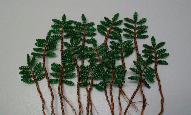 Изготовление листочков для дерева