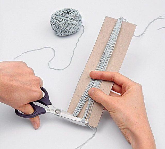Поэтапный процесс изготовления сережек