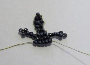 Схема плетения ящерицы