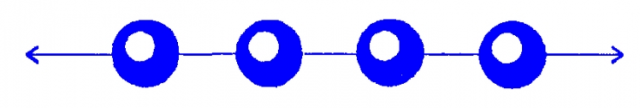Схема плетения чокера из бисера