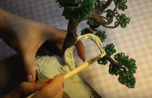 Мастер-класс по изготовлению дуба из бисера