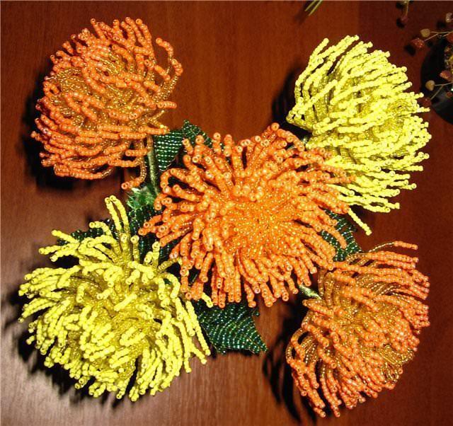 Способы создания хризантемы