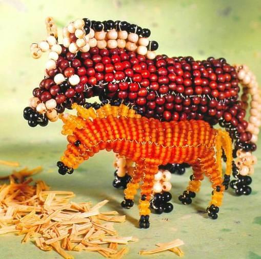 Схема плетения лошадки