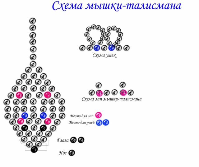 Схема объемной поделки