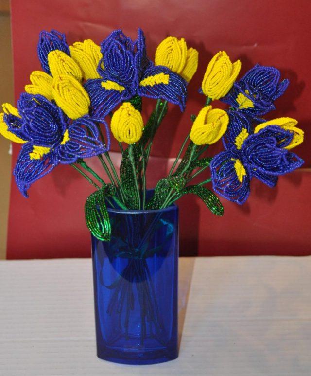 Тюльпан и Ирис