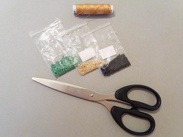 Инструменты и материалы для создания уичольских цветов
