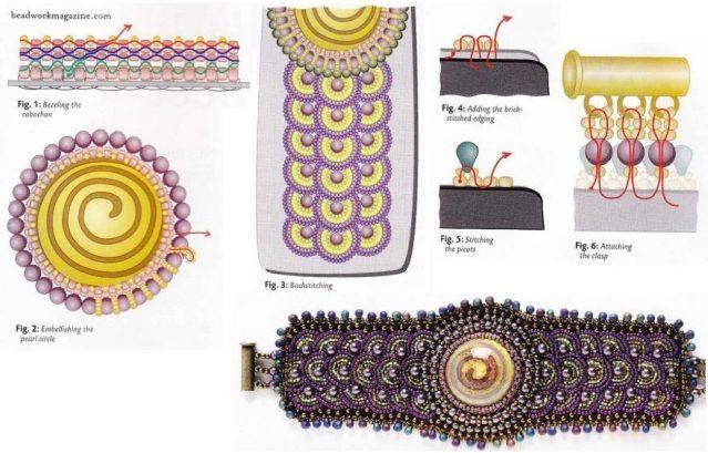 Создание необычного браслета