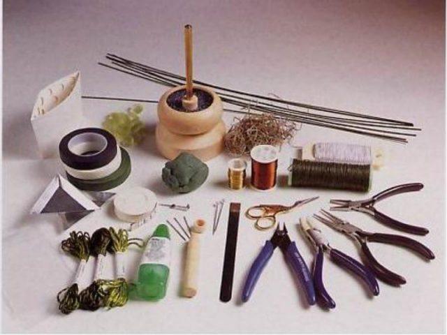 Фурнитура и инструментыдля работы с бисером