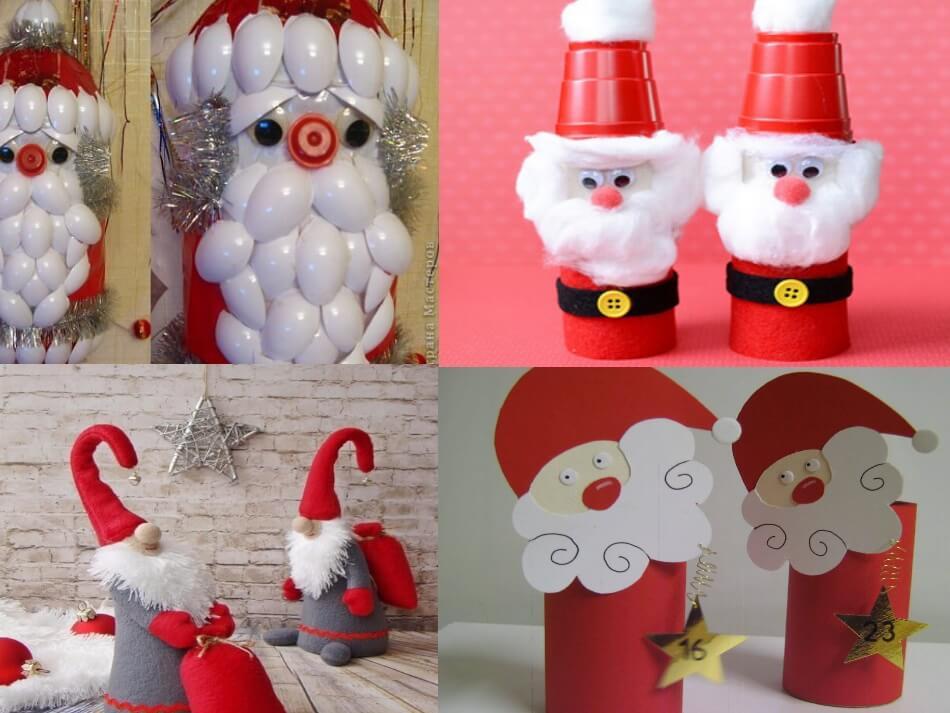 Дед Мороз из подручных материалов своими руками